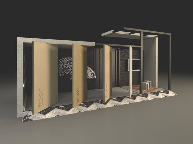 Develime Batimat Exhibition Stand
