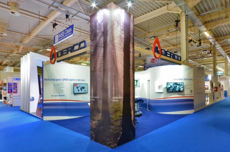 Aderco Posidonia Exhibition Stand